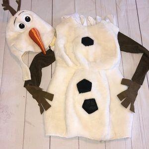 Olaf costume size 5-6